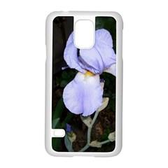 Bearded Iris Samsung Galaxy S5 Case (White)