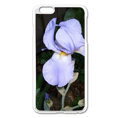 Bearded Iris Apple iPhone 6 Plus/6S Plus Enamel White Case