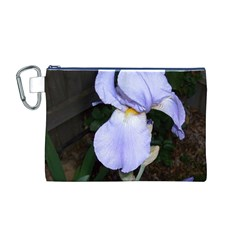 Bearded Iris Canvas Cosmetic Bag (M)
