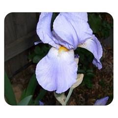 Bearded Iris Double Sided Flano Blanket (Small)