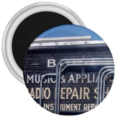 Boise Music And Appliance Radio Repair Painted Sign 3  Magnets