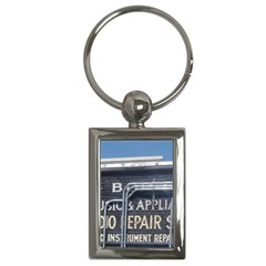 Boise Music And Appliance Radio Repair Painted Sign Key Chains (Rectangle)