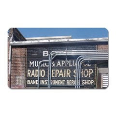 Boise Music And Appliance Radio Repair Painted Sign Magnet (Rectangular)