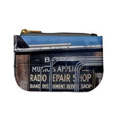 Boise Music And Appliance Radio Repair Painted Sign Mini Coin Purses