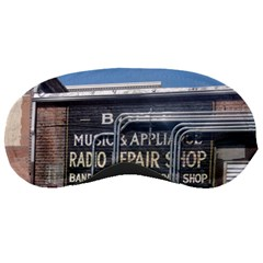 Boise Music And Appliance Radio Repair Painted Sign Sleeping Masks
