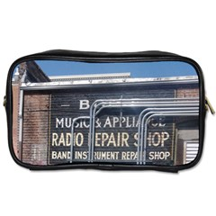 Boise Music And Appliance Radio Repair Painted Sign Toiletries Bags 2-Side