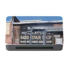 Boise Music And Appliance Radio Repair Painted Sign Memory Card Reader with CF