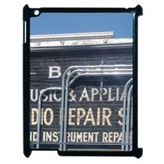 Boise Music And Appliance Radio Repair Painted Sign Apple iPad 2 Case (Black)