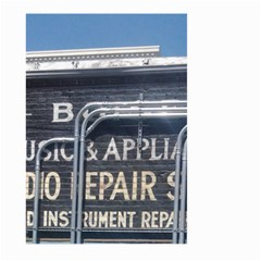 Boise Music And Appliance Radio Repair Painted Sign Large Garden Flag (Two Sides)