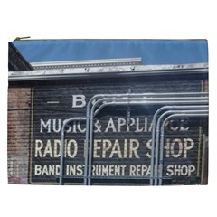 Boise Music And Appliance Radio Repair Painted Sign Cosmetic Bag (XXL)