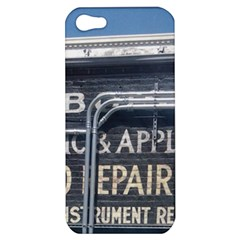 Boise Music And Appliance Radio Repair Painted Sign Apple iPhone 5 Hardshell Case