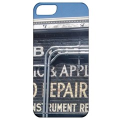 Boise Music And Appliance Radio Repair Painted Sign Apple iPhone 5 Classic Hardshell Case