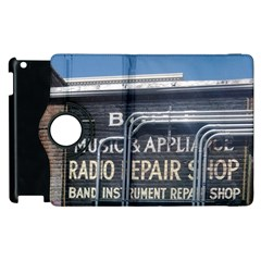 Boise Music And Appliance Radio Repair Painted Sign Apple iPad 3/4 Flip 360 Case