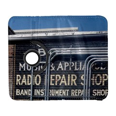 Boise Music And Appliance Radio Repair Painted Sign Galaxy S3 (Flip/Folio)