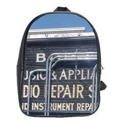Boise Music And Appliance Radio Repair Painted Sign School Bags (XL)