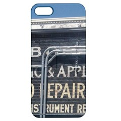 Boise Music And Appliance Radio Repair Painted Sign Apple iPhone 5 Hardshell Case with Stand