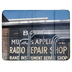 Boise Music And Appliance Radio Repair Painted Sign Samsung Galaxy Tab 7  P1000 Flip Case