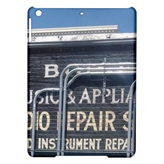 Boise Music And Appliance Radio Repair Painted Sign iPad Air Hardshell Cases