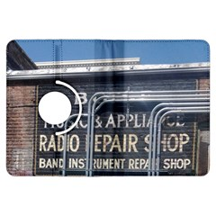 Boise Music And Appliance Radio Repair Painted Sign Kindle Fire HDX Flip 360 Case