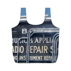 Boise Music And Appliance Radio Repair Painted Sign Full Print Recycle Bags (M)
