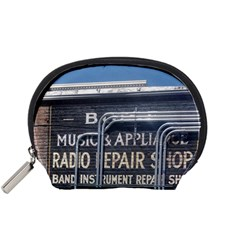 Boise Music And Appliance Radio Repair Painted Sign Accessory Pouches (Small)