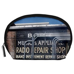 Boise Music And Appliance Radio Repair Painted Sign Accessory Pouches (Large)