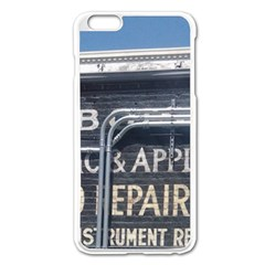 Boise Music And Appliance Radio Repair Painted Sign Apple iPhone 6 Plus/6S Plus Enamel White Case