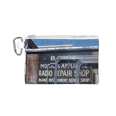 Boise Music And Appliance Radio Repair Painted Sign Canvas Cosmetic Bag (S)