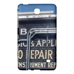 Boise Music And Appliance Radio Repair Painted Sign Samsung Galaxy Tab 4 (7 ) Hardshell Case