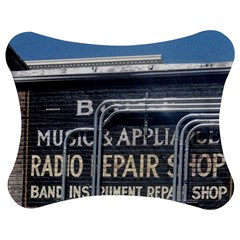 Boise Music And Appliance Radio Repair Painted Sign Jigsaw Puzzle Photo Stand (Bow)