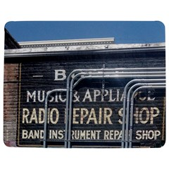 Boise Music And Appliance Radio Repair Painted Sign Jigsaw Puzzle Photo Stand (Rectangular)