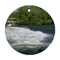 Boise River At Flood Stage Ornament (Round)