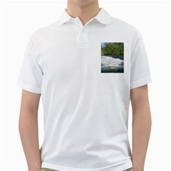Boise River At Flood Stage Golf Shirts