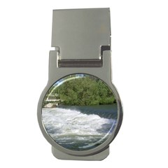 Boise River At Flood Stage Money Clips (Round)