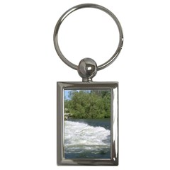 Boise River At Flood Stage Key Chains (Rectangle)
