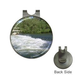 Boise River At Flood Stage Hat Clips with Golf Markers