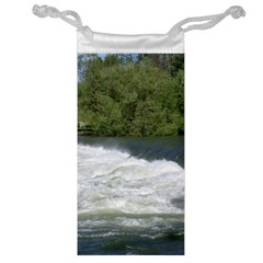 Boise River At Flood Stage Jewelry Bag
