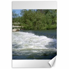 Boise River At Flood Stage Canvas 24  x 36