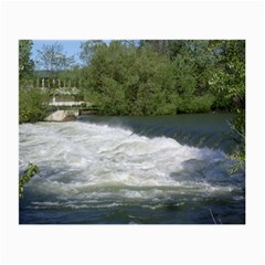 Boise River At Flood Stage Small Glasses Cloth (2-Side)