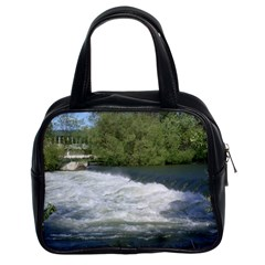 Boise River At Flood Stage Classic Handbags (2 Sides)
