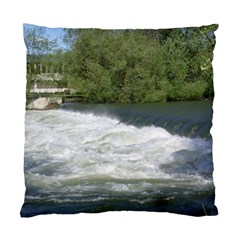 Boise River At Flood Stage Standard Cushion Case (One Side)