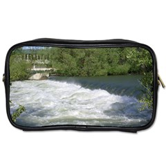 Boise River At Flood Stage Toiletries Bags