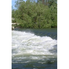 Boise River At Flood Stage 5.5  x 8.5  Notebooks