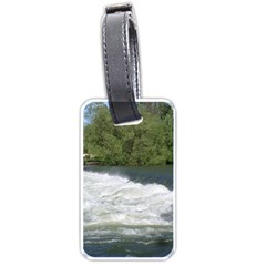 Boise River At Flood Stage Luggage Tags (two Sides)