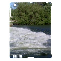 Boise River At Flood Stage Apple iPad 3/4 Hardshell Case (Compatible with Smart Cover)