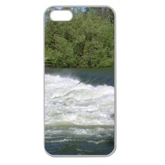 Boise River At Flood Stage Apple Seamless iPhone 5 Case (Clear)
