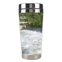 Boise River At Flood Stage Stainless Steel Travel Tumblers