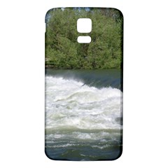 Boise River At Flood Stage Samsung Galaxy S5 Back Case (White)