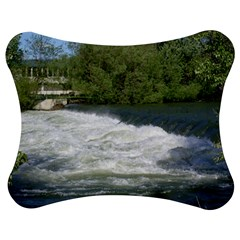 Boise River At Flood Stage Jigsaw Puzzle Photo Stand (bow)