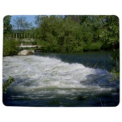 Boise River At Flood Stage Jigsaw Puzzle Photo Stand (rectangular)